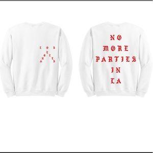 Kanye West No More Parties in LA Sweatshirt